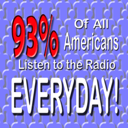 94 percent of people listen to radio