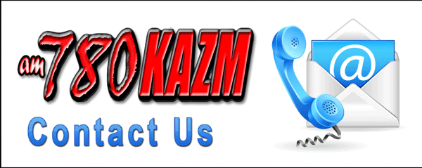 Contact us at KAZM Radio