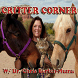 Critter Corner with Dr. Chris Bertch- Muma from the Bell Rock Vet Clinic on KAZM