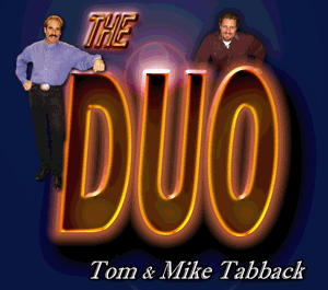 The DUO with Mike Tabback Tom Tabback KAZM
