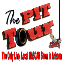 The Pit Tour NASCAR Radio show with Mike Tabback ESPN 780 KAZM Sedona Northern Arizona