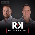 Russillo and Canell on ESPN radio and AM 780 KAZM radio
