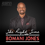 The Right Time with Bomani Jones ESPN Radio 780 KAZM